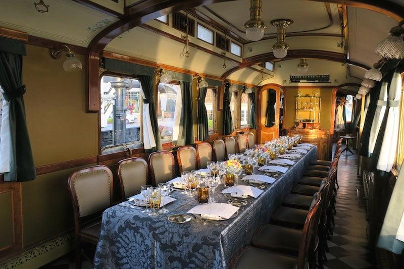 Sommelier's Table: Tarihi Vagonda Tadım Akşamı
