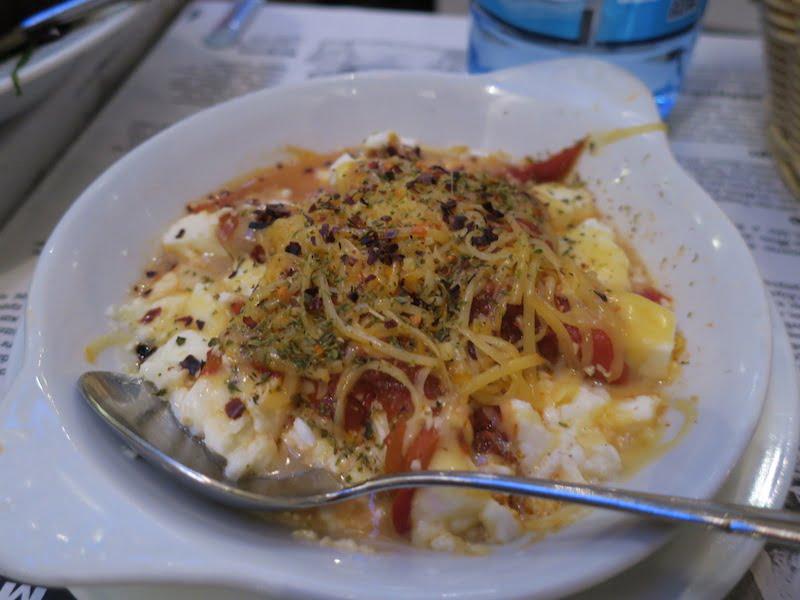 selanik full tou meze sicak feta peyniri