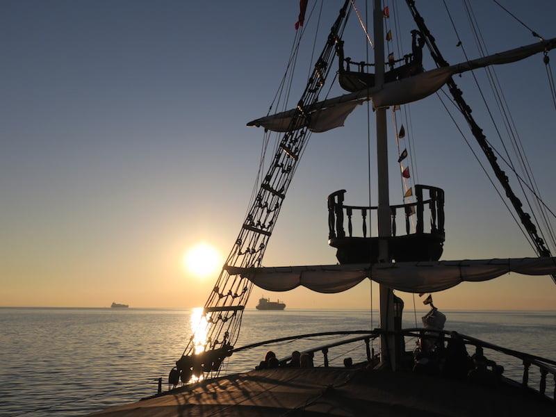 selanik korsan gemisi
