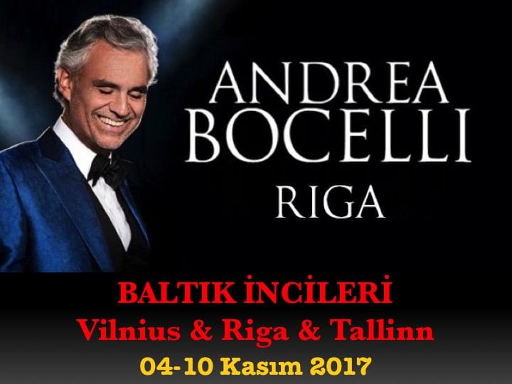 Baltık Ülkeleri & Andrea Bocelli Konseri Turu