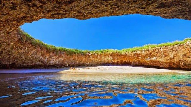 playa del amor meksika