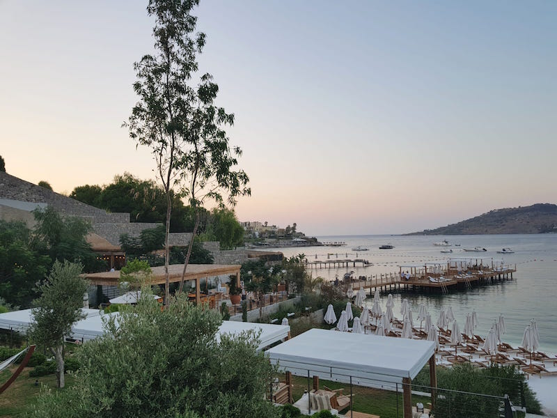 the bodrum edition hotel plaj