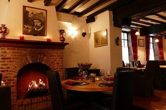 en romantik restaurant bruges pieter pourbus