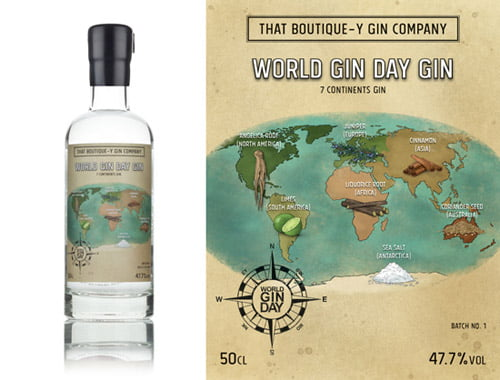 world gin day 7 continents